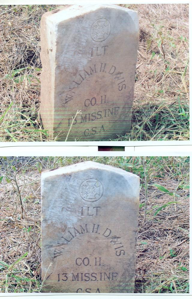 Davis, Wm H Headstone