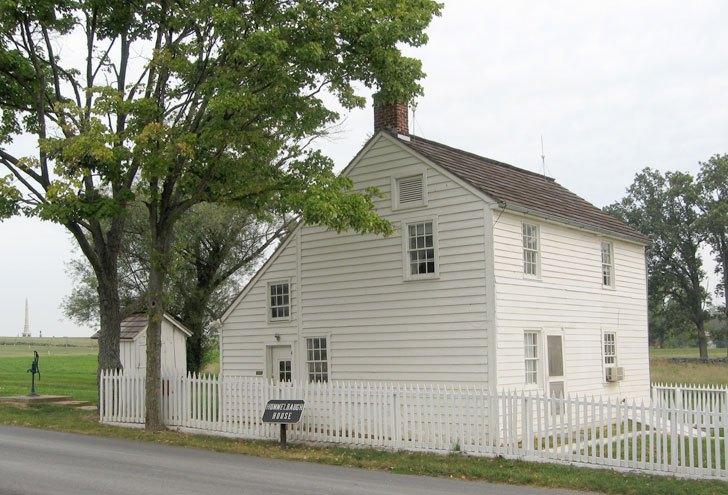 Where Gen. Barksdale died
